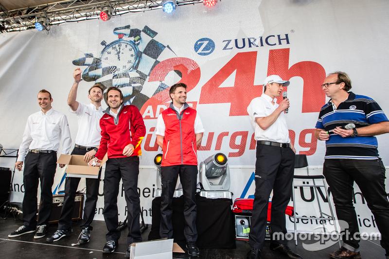 Phoenix Racing Audi R8 LMS: Крістофер Гаазе, Рене Раст, Маркус Вінкелхок, Christian Mamerow, Frank Stippler