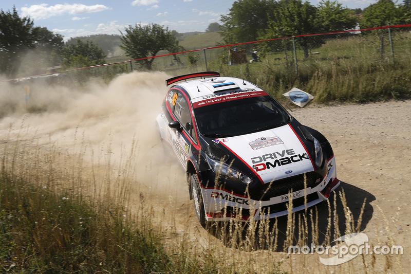 Sander Parn and James Morgan, Ford Fiesta R6