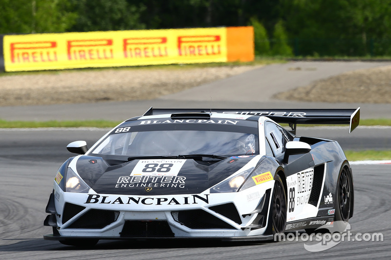 #88 Reiter Engineering Lamborghini Gallardo LP560-4 R-EX: Альберт фон Турн унд Таксіс, Нікі Катсбург
