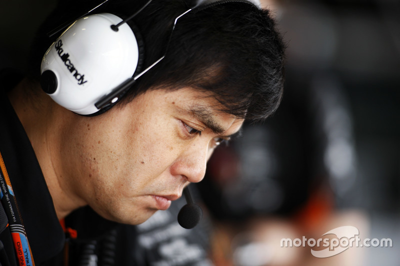 Jun Matsuzaki, Sahara Force India F1 Team Senior Tyre Engineer