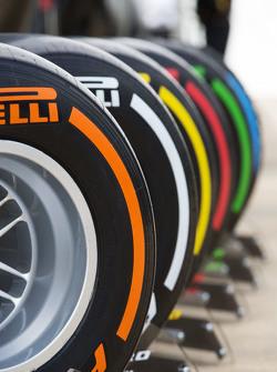 Muestran los neumáticos Pirelli