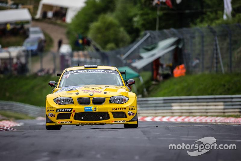 #106 MSC-Rhön e.V. im ADAC, BMW 1 M Coupé: Harald Rettich, Fabrice Reicher, Dominique Nury, Richard Purtscher