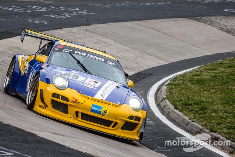 #69 Sex Bomb Porsche 997 GT3 Cup: Wolfgang Destrée, Kersten Jodexnis, Edgar Salewsky, Робін Chrzanowski