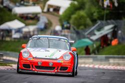 #73 Teichmann Racing Porsche 997 GT3 Cup: Torleif Nytroeen, Morten Skyer, Antti Buri, Kari-Pekka Laaksonen