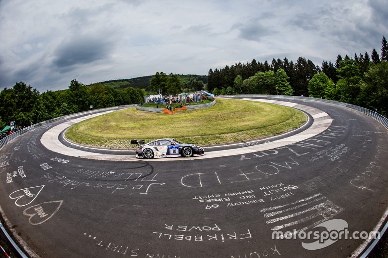 #10 Team Manthey, Porsche 911 GT3 RSR: Georg Weiss, Oliver Kainz, Jochen Krumbach, Richard Lietz