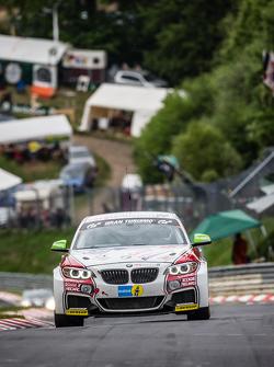 #301 Sorg Rennsport BMW M235i Racing: Friedhelm Mihm, Heiko Eichenberg, Kevin Warum, Torsten Kratz