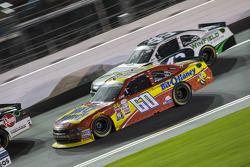 Chris Buescher, Roush Fenway Racing, Ford, und Dakoda Armstrong, Richard Petty Motorsports