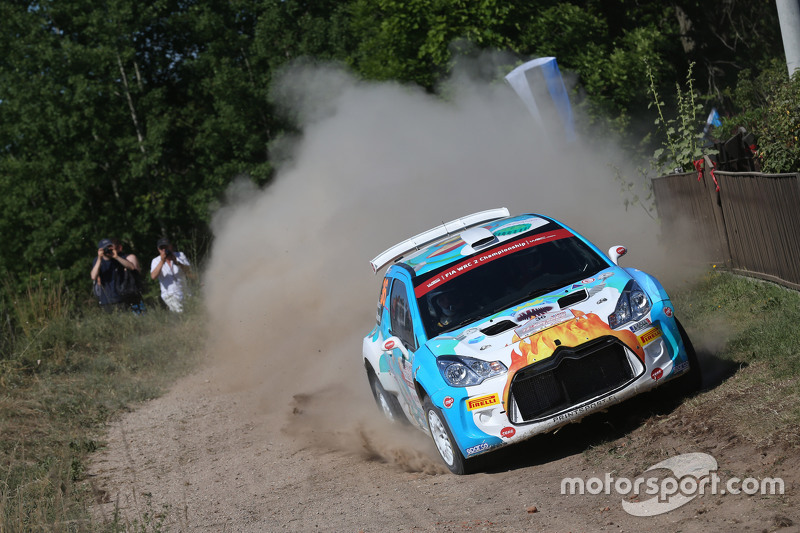 Karl Kruuda and Martin Jarveoja, Citroën DS3 R5