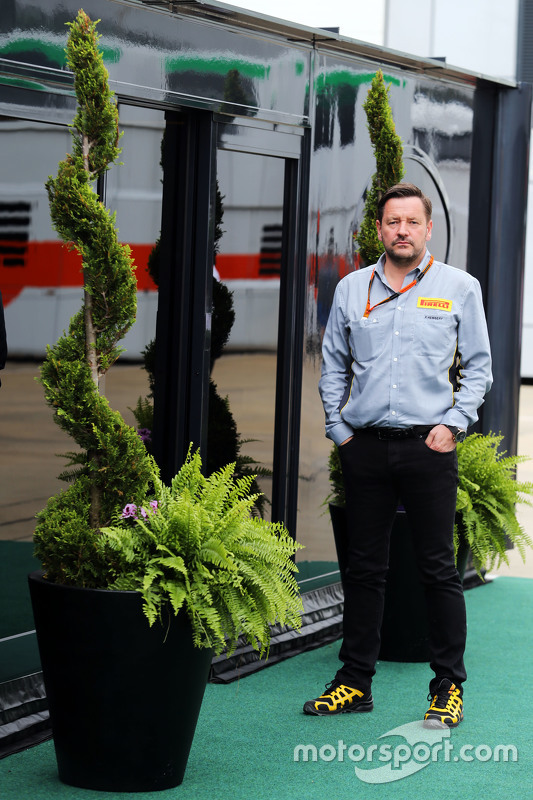 Paul Hembery, Pirelli Motorsport Directeur