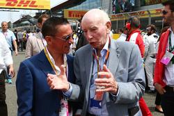 Frankie Dettori con John Surtees