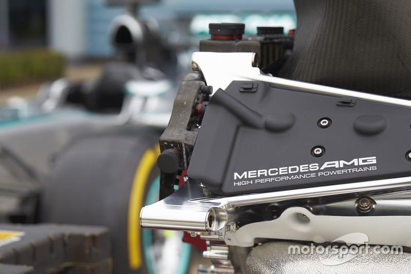 Mercedes AMG F1 Team engine