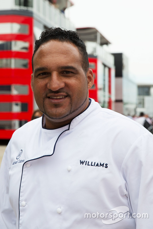 Michael Caines, Chef da Williams