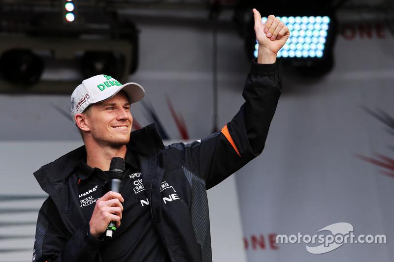 Ніко Хюлкенберг, Sahara Force India F1 на післягоночному концерті