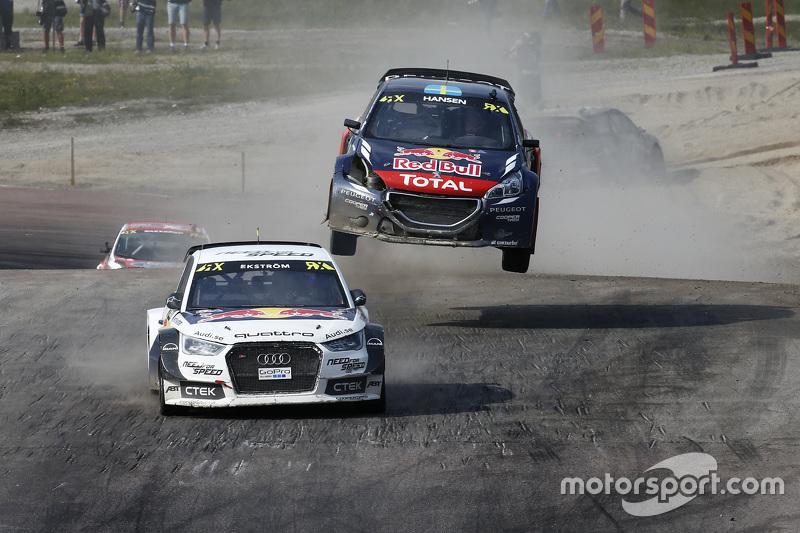 Маттіас Екстрем, EKSRX Audi S1 quattro та Тіммі Хансен, Team Peugeot Hansen