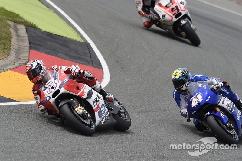 Andrea Dovizioso, Ducati Team dan Aleix Espargaro, Team Suzuki MotoGP