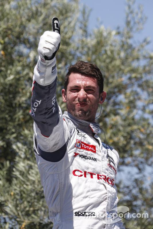 Juara balapan Jose Maria Lopez, Citroën C-Elysée WTCC, Citroën World Touring Car team