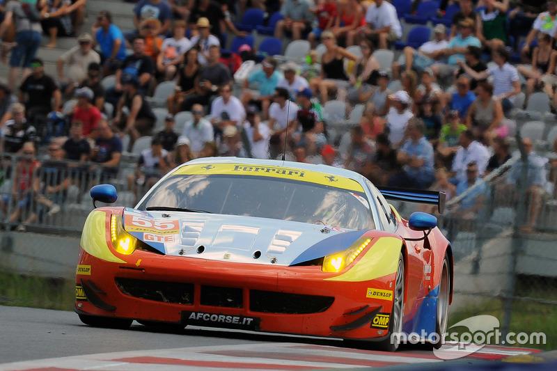 #55 AF Corse Ferrari F458 Italia: Данкан Камерон, Метт Гріффін, Aaron Scott