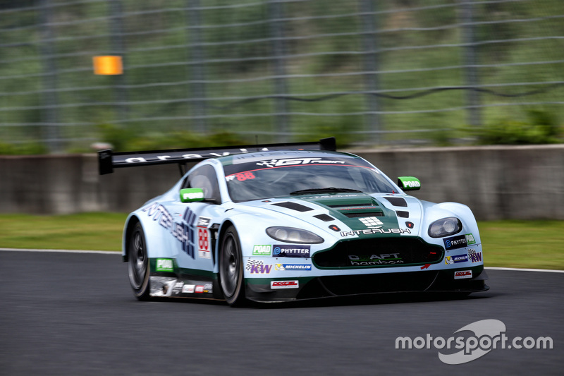 #88 Craft-Bamboo Racing Aston Martin Vantage V12 GT3: Richard Lyons, Frank Yu