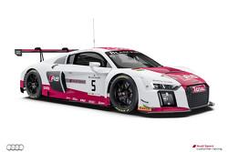 #5 Audi Sport - Takım: Phoenix Audi R8 LMS