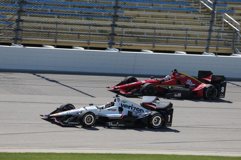 Will Power, Team Penske Chevrole, dan Sage Karam, Chip Ganassi Racing Chevrolet