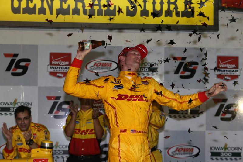 Pemenang balapan: Ryan Hunter-Reay: Andretti Autosport