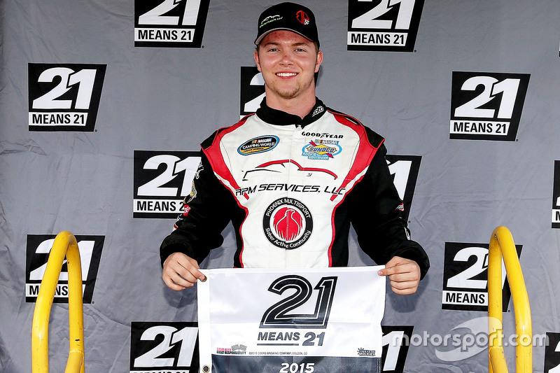 Polesitter Bobby Pierce, MB Motorsports Chevrolet