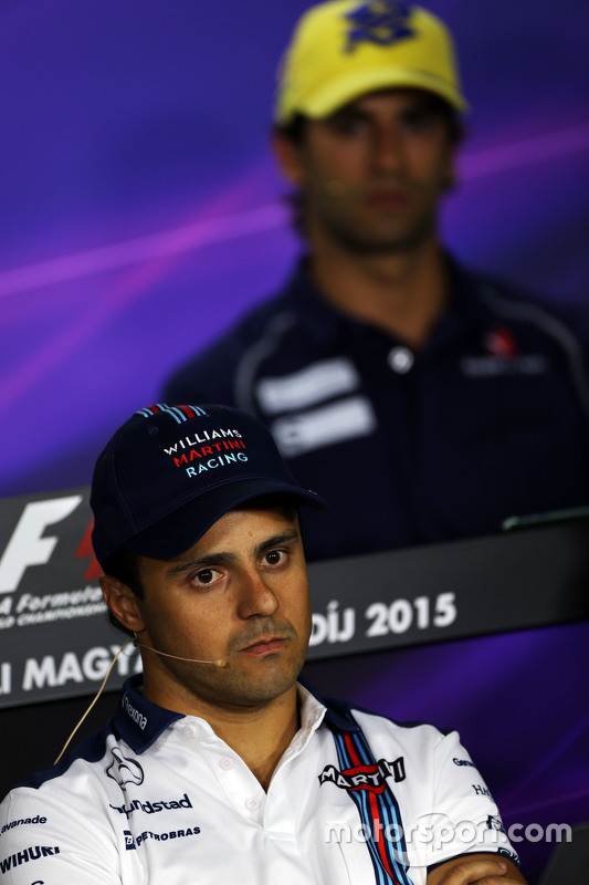 Felipe Massa, Williams in de FIA persconferentie