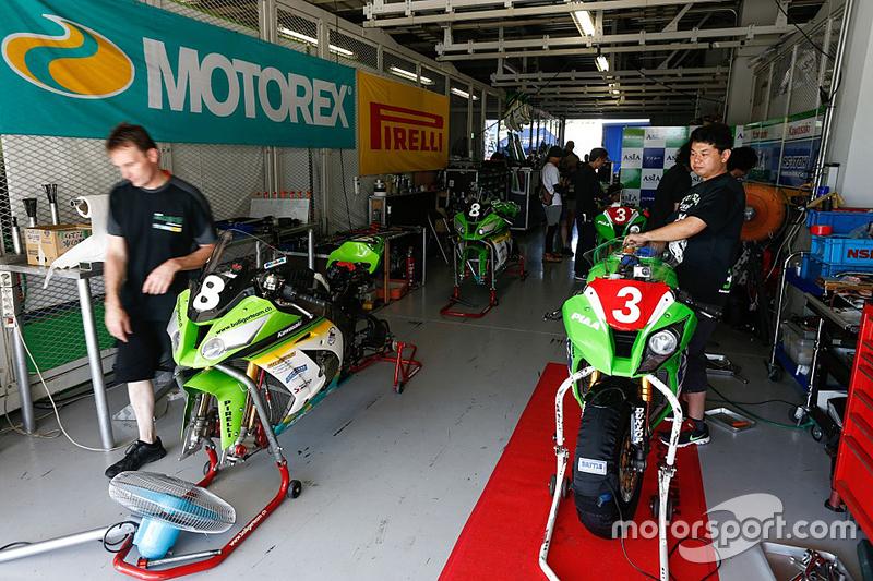 Kawasaki team area