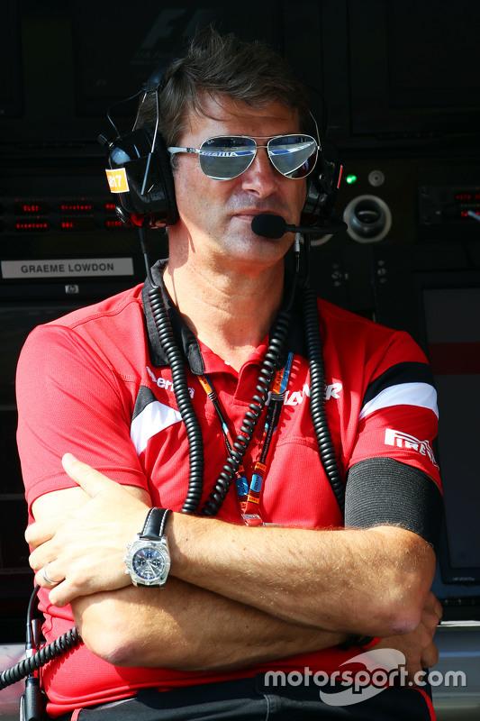 Graeme Lowdon, chefe executivo da Manor F1 Team