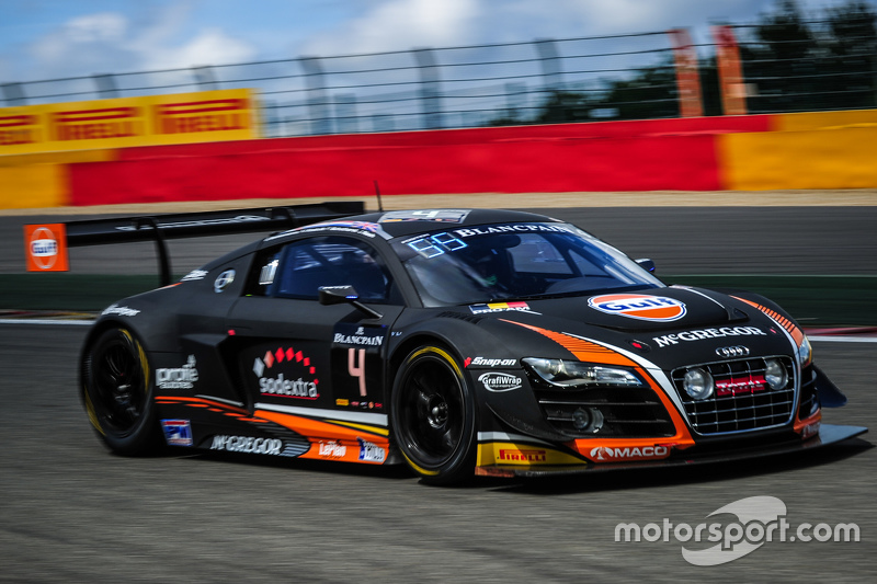 #4 Belgian Audi Club Team WRT Audi R8 LMS Ultra: Max Koebolt, Sacha Bottemanne, Pieter Schothorst, James Nash