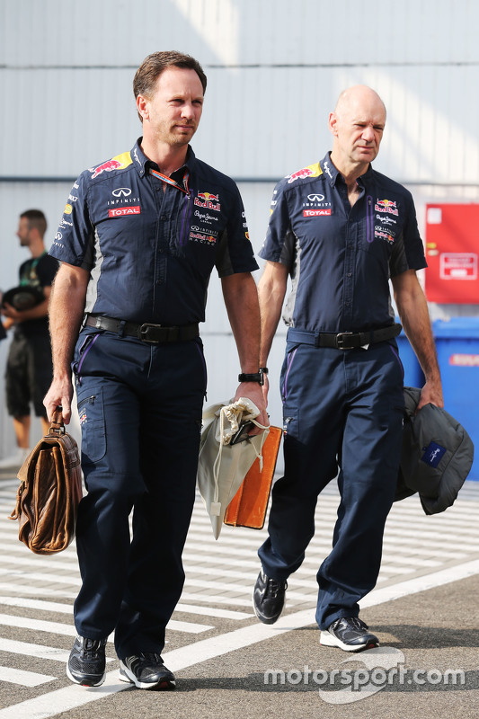 Christian Horner en Adrian Newey, Red Bull Racing