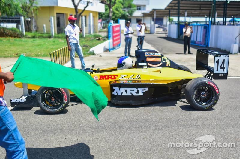 Green flag for Arjun Narendran