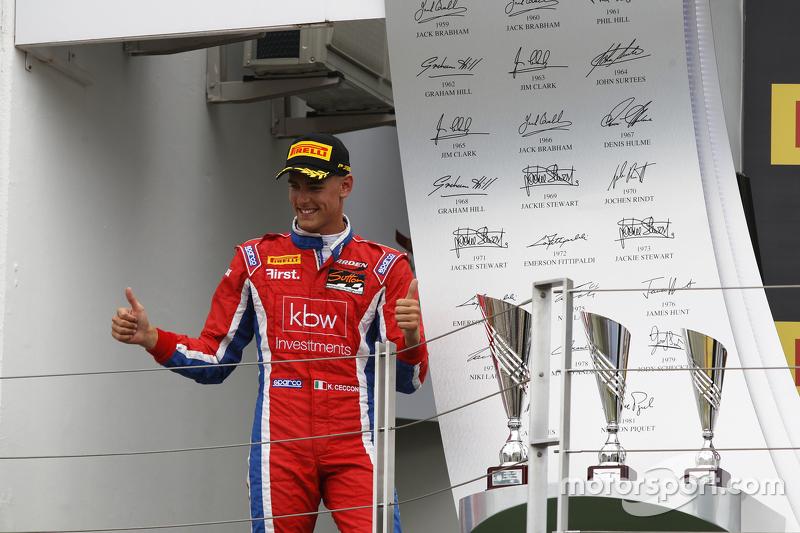 Переможець гонки Кевін Кеккон, Arden International