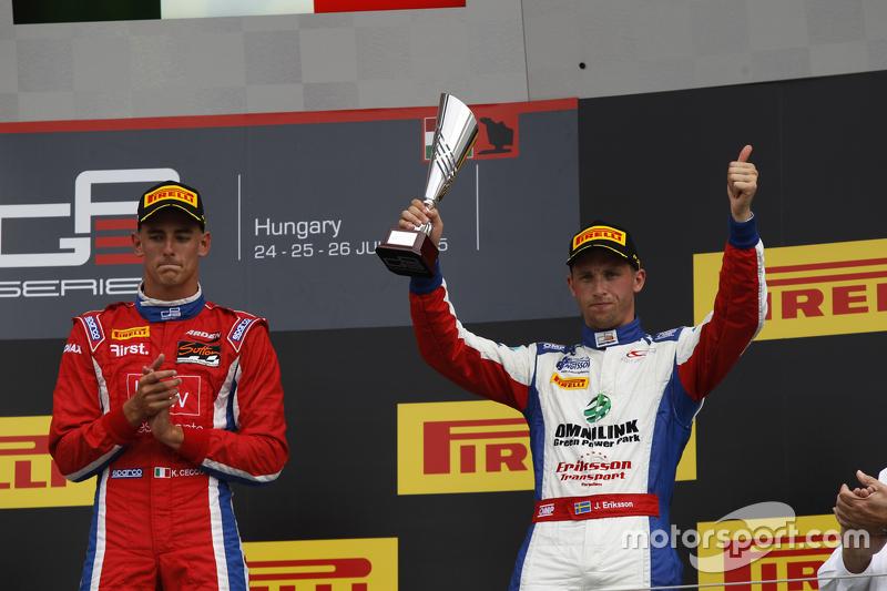 Peringkat ketiga Jimmy Eriksson, Koiranen GP