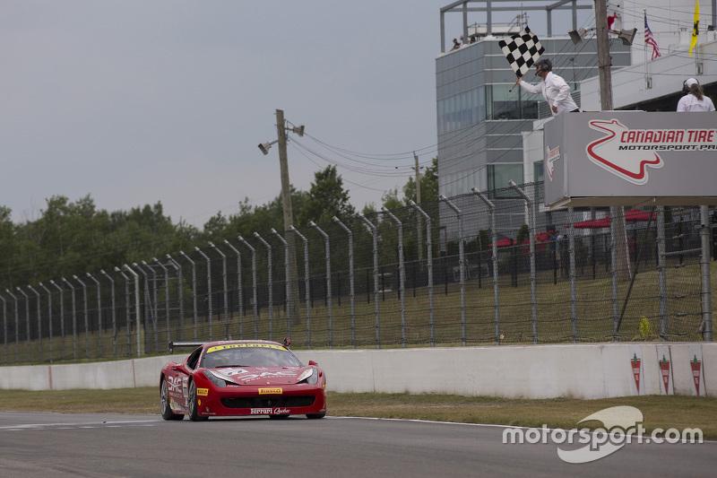 #77 Ferrari Quebec Ferrari 458TP: Еммануель Анассіс перемагає