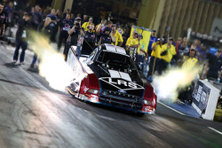 John Force sets a new track record