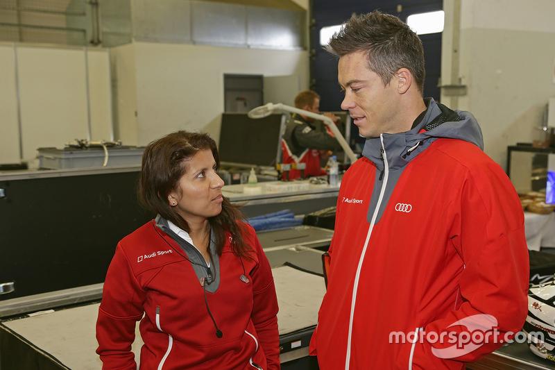 Lena Gade and Andre Lotterer, Audi Sport Team Joest