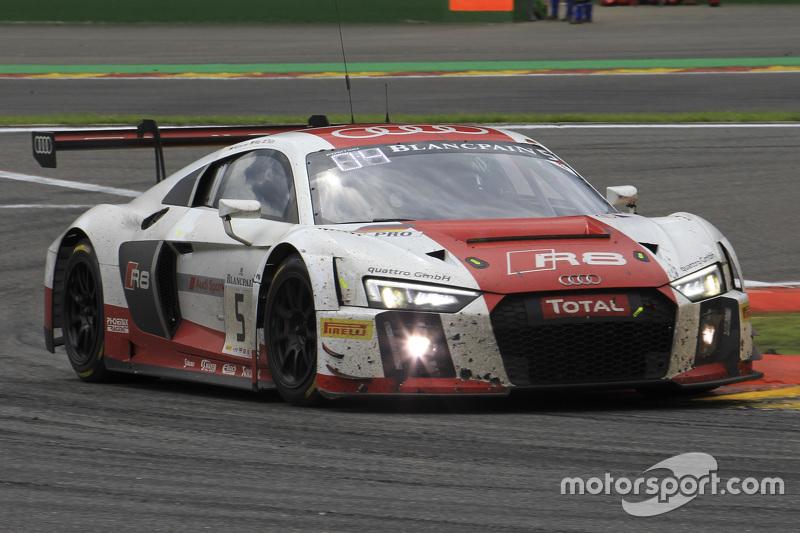 #5 Phoenix Racing Audi R8 LMS: Christian Mamerow, Крістофер Міс, Нікі Тіім