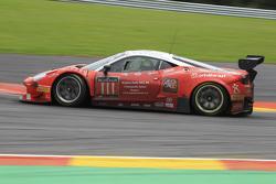 #111 Kessel Racing Ferrari 458 Italia: Stephen Earle, Marco Zanuttini, Liam Talbot, Marc Rostan