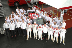 Foto grup Citroën World Rally Team