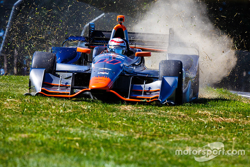Stefano Coletti, KV Racing Technology Chevrolet in trouble