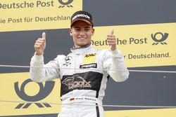 Segundo lugar Pascal Wehrlein, HWA AG Mercedes-AMG C63 DTM