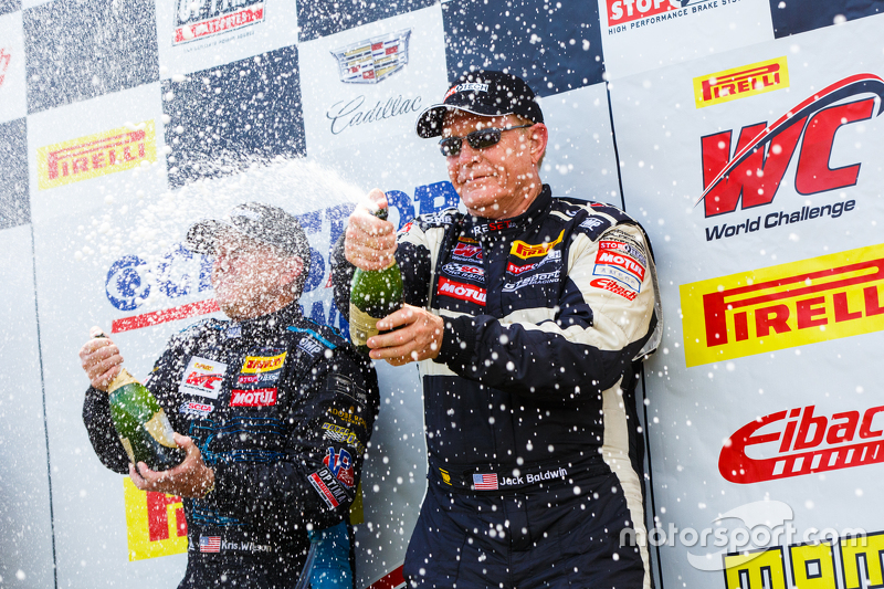 Peringkat kedua #73 GTSport Racing Porsche Cayman S: Jack Baldwin