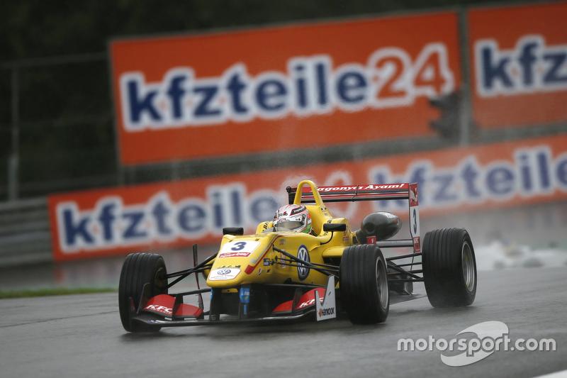 Antonio Giovinazzi, Jagonya Ayam dengan Carlin Dallara Volkswagen
