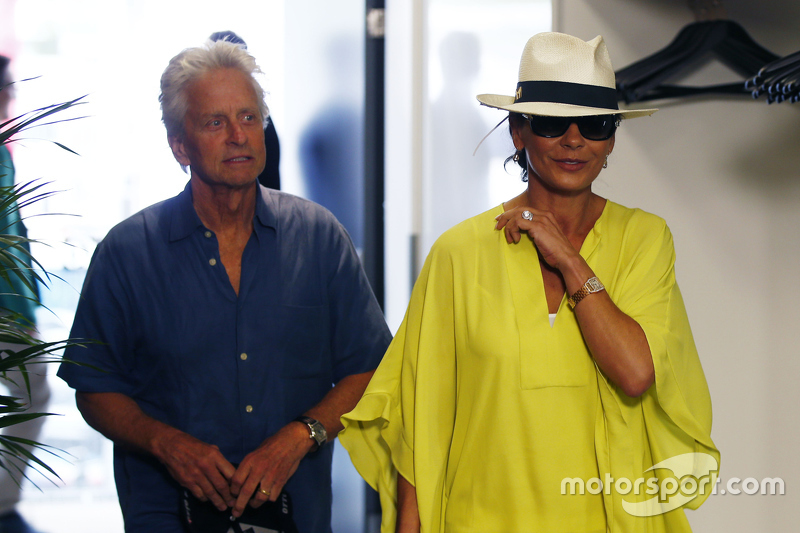 Michael Douglas ve Catherine Zeta-Jones