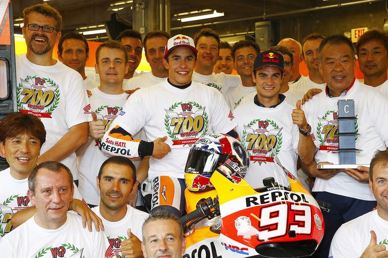 Juara balapan Marc Marquez, Repsol Honda Team