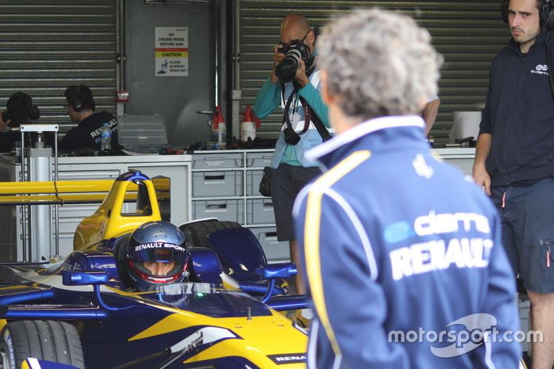 Alain and Nicolas Prost, Renault e.Dams