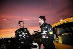 Nissan Micra Stock Car winners Elliott Schutte and Matthew Simmons