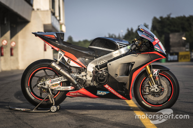Stefan Bradl bike, Aprilia Racing Team Gresini