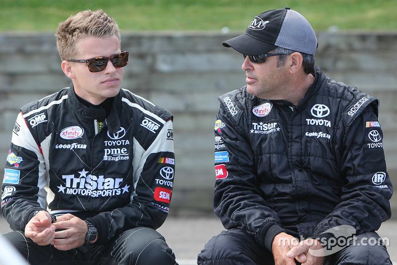 Blake Koch, TriStar Motorsports Toyota dan Jeff Green, TriStar Motorsports Toyota